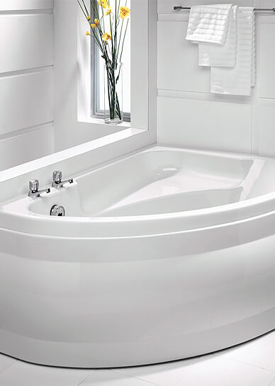 Corner Bath and Offset Corner Bath Now available at QS