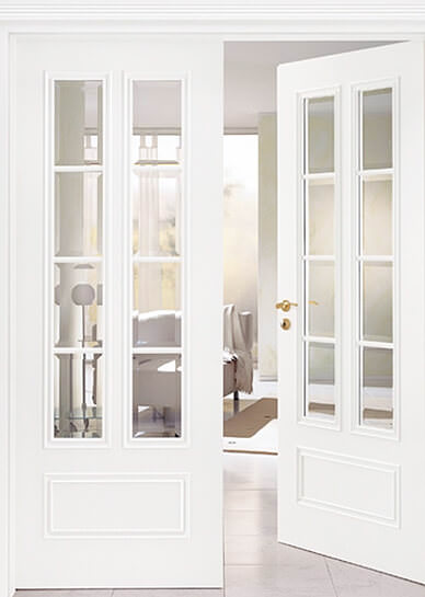 Internal home doors quality door at best prices for Glazed french doors
